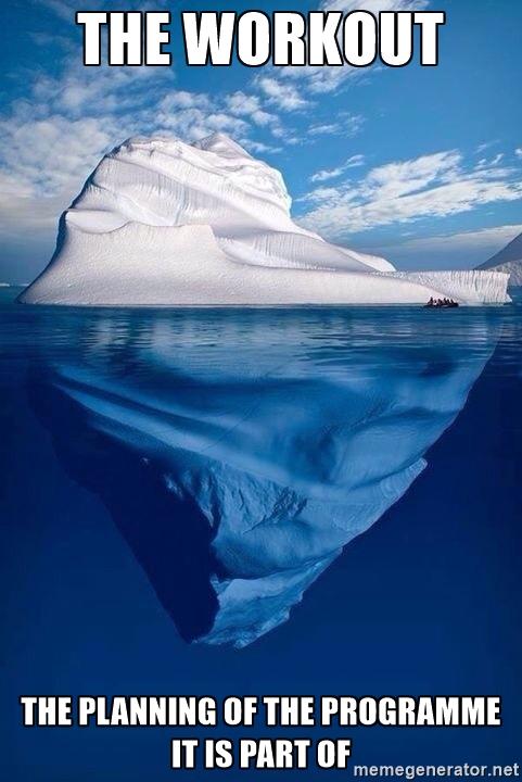 Iceberg workout